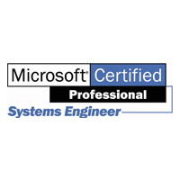 Microsoft Certified Professional Systems Engineer